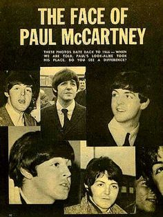 the faces of Paul McCartney