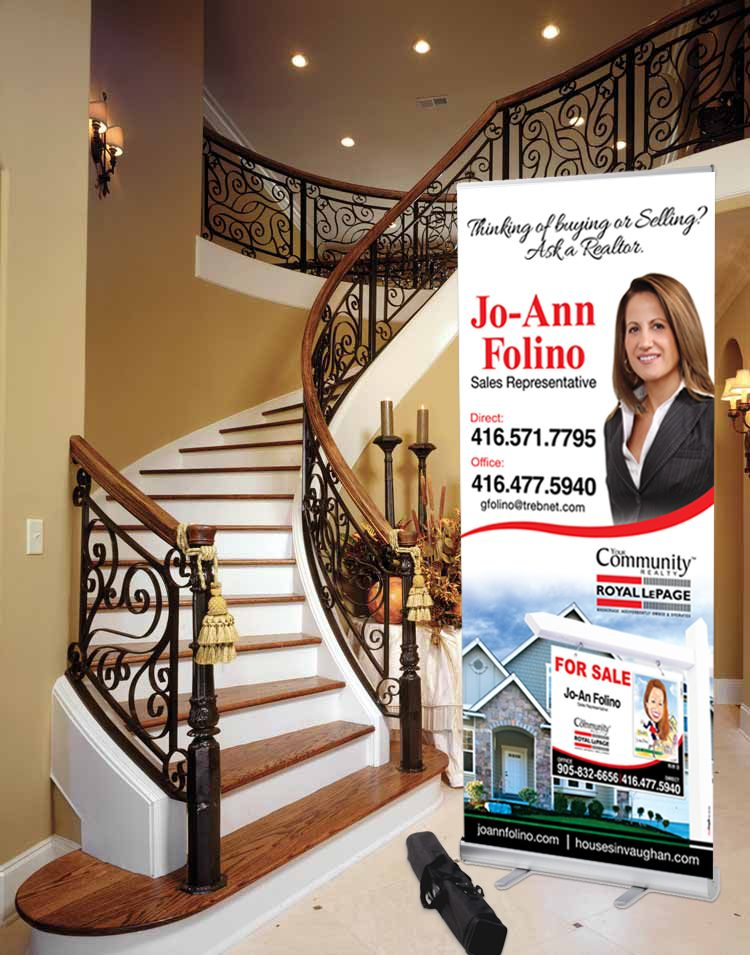 Real Estate Banners Can Be A Powerful Selling Tool When Showcasing A Property Or For Your Pers Selling Real Estate Real Estate Marketing Plan Real Estate Signs