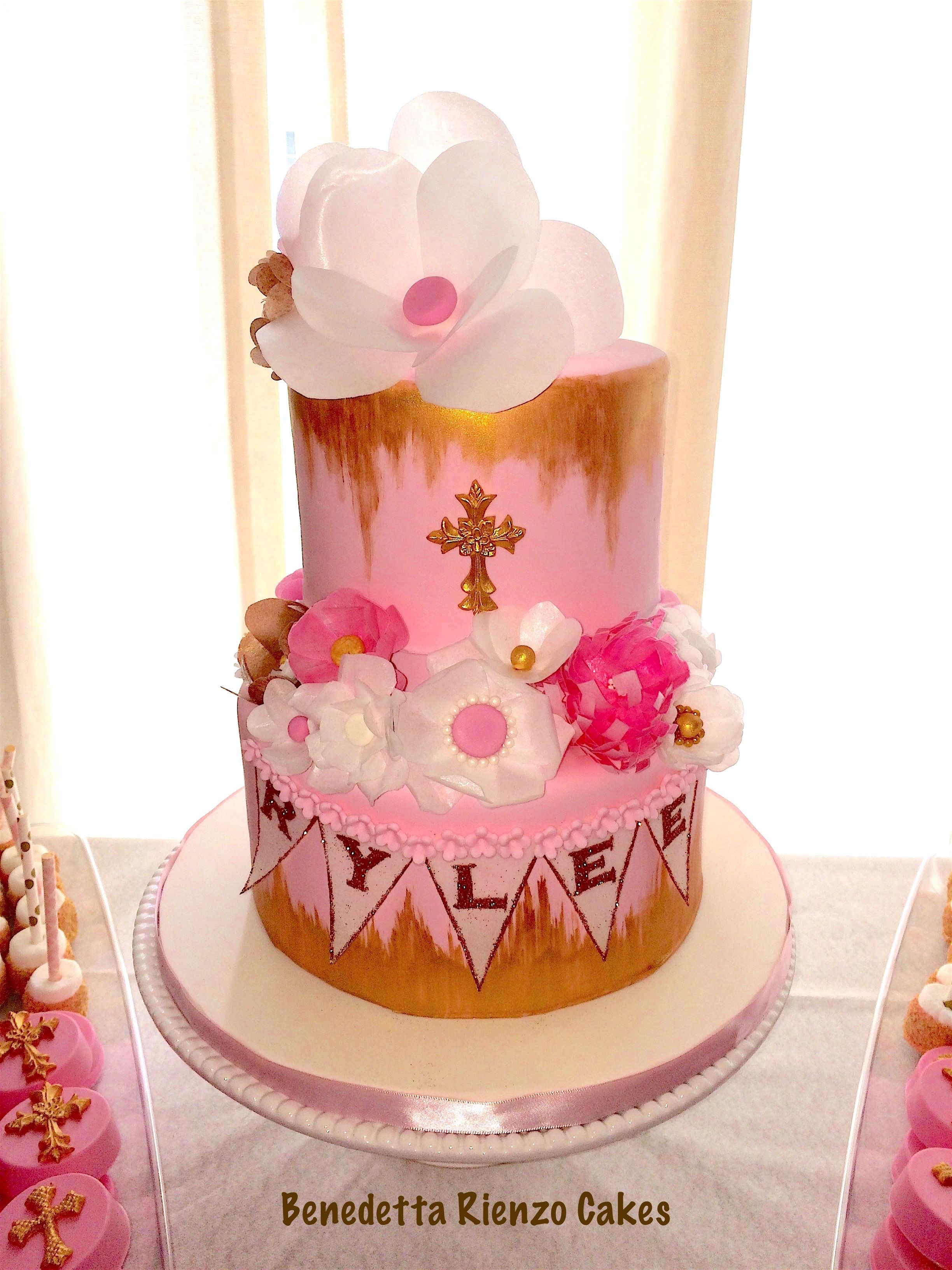 Communion Cake for my niece Benedetta Rienzo Cakes Original design