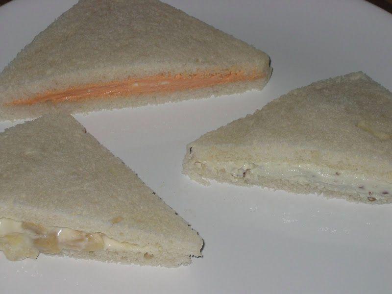 Rellenos para sandwiches de miga. | Rellenos para sandwich ...
