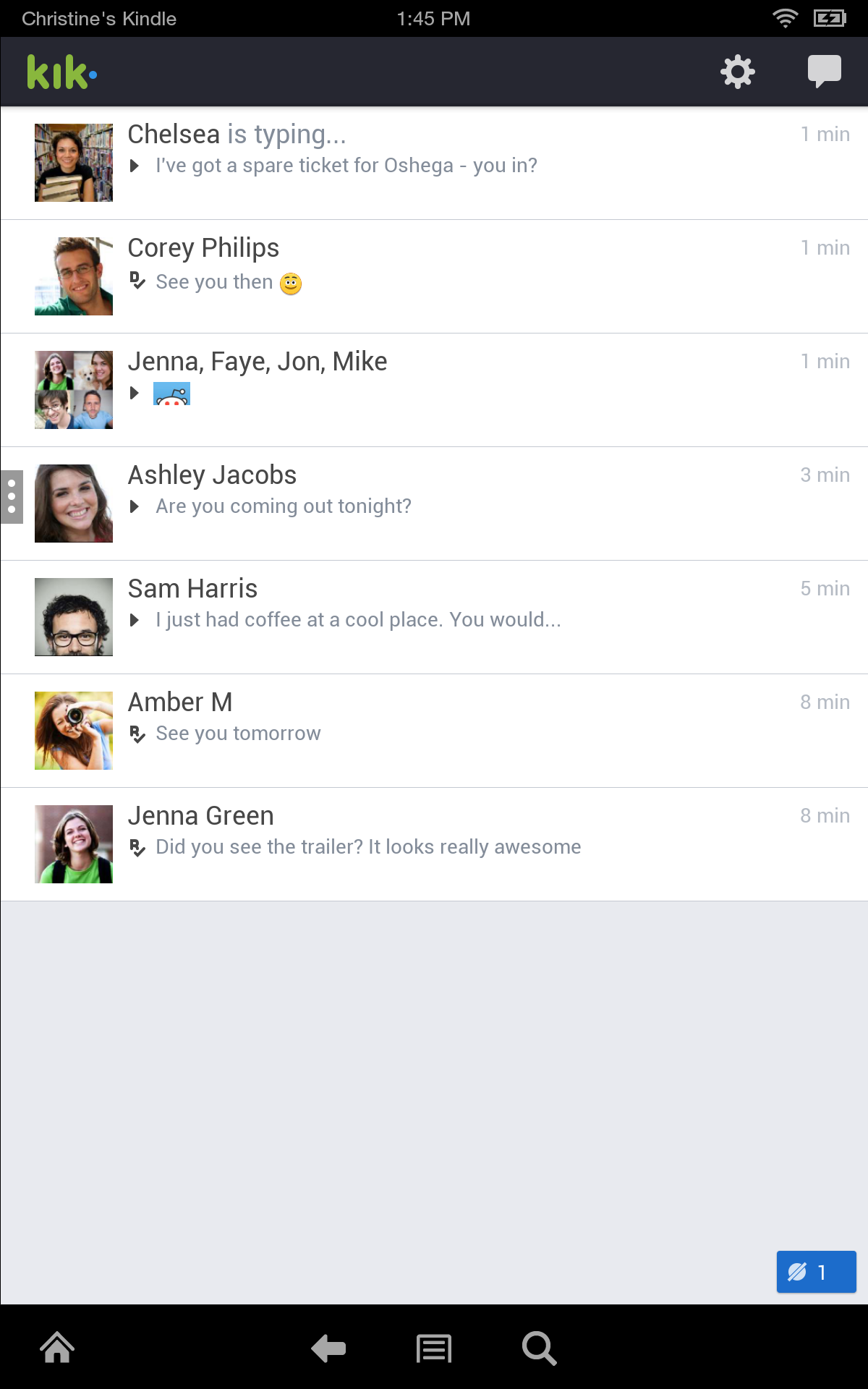 Kik Messenger Appstore for Android Kik