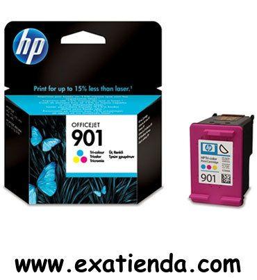 Ya disponible Cartucho HP cc656ae 901 tricolor normal   (por sólo 25.99 € IVA incluído):   -Compatible con: HP Officejet J4580/4660/4680 -Color: Tricolor -Capacidad: Normal (360 páginas aprox.) Garantía de fabricante  http://www.exabyteinformatica.com/tienda/4374-cartucho-hp-cc656ae-901-tricolor-normal #hp #exabyteinformatica