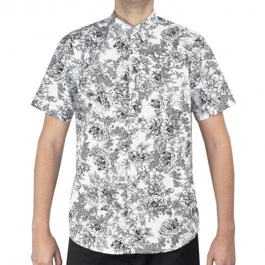 CARHARTT Wild Rose Shirt poplin chemise à manches courtes white black 69,00 € #skate #skateboard #skateboarding #streetshop #skateshop @playskateshop