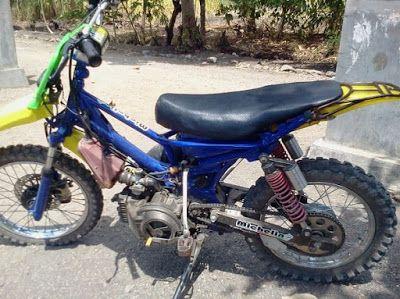 Modifikasi Motor Bebek Jadi Trail