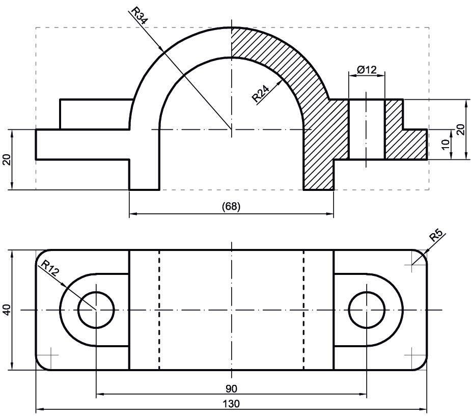 Examenes Resueltos Selctividad Navarra 10sa2 Jpg 925 825 Mechanical Engineering Design Technical Drawing Interesting Drawings