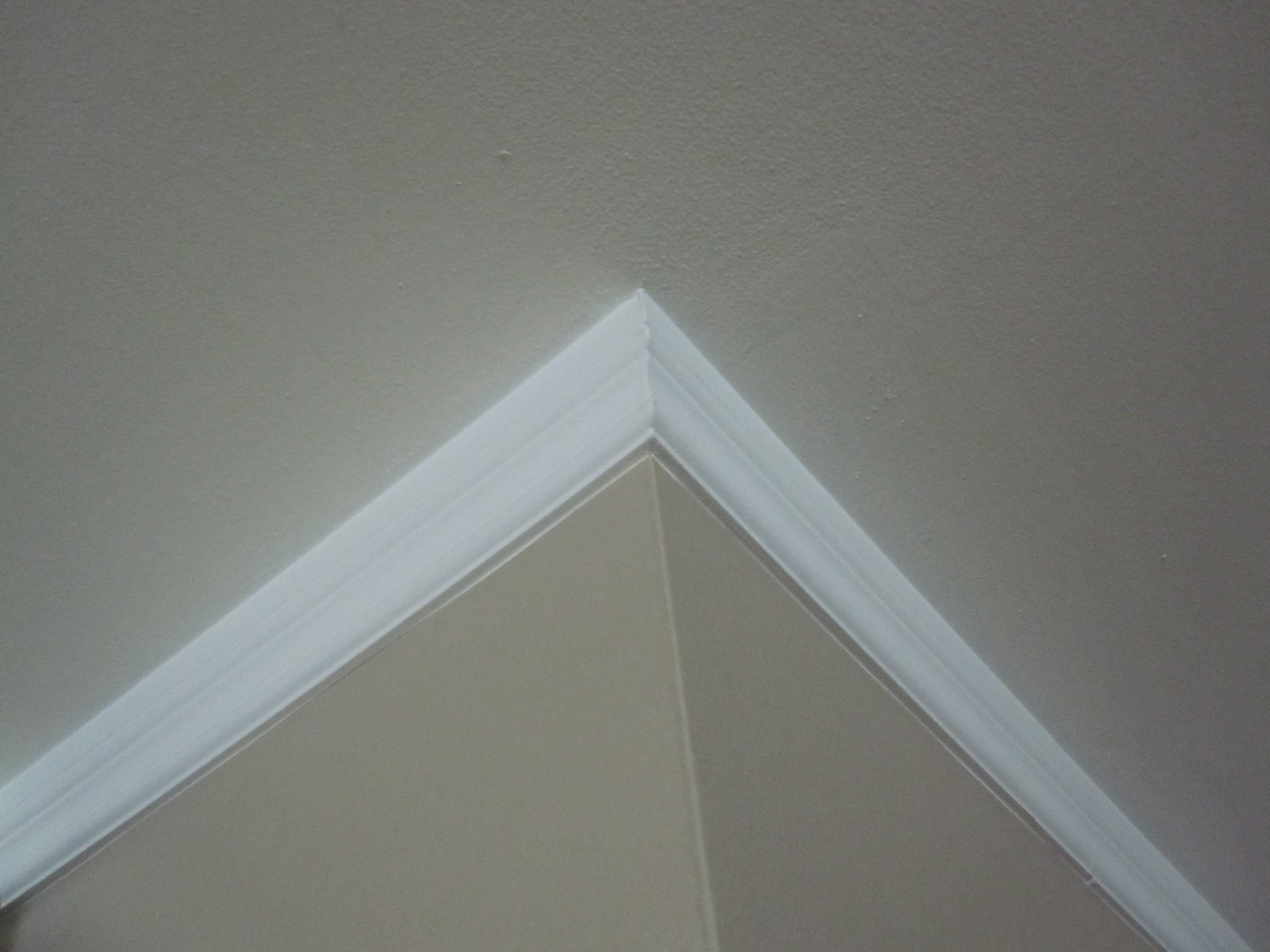 Simple inexpensive solution for crown moulding