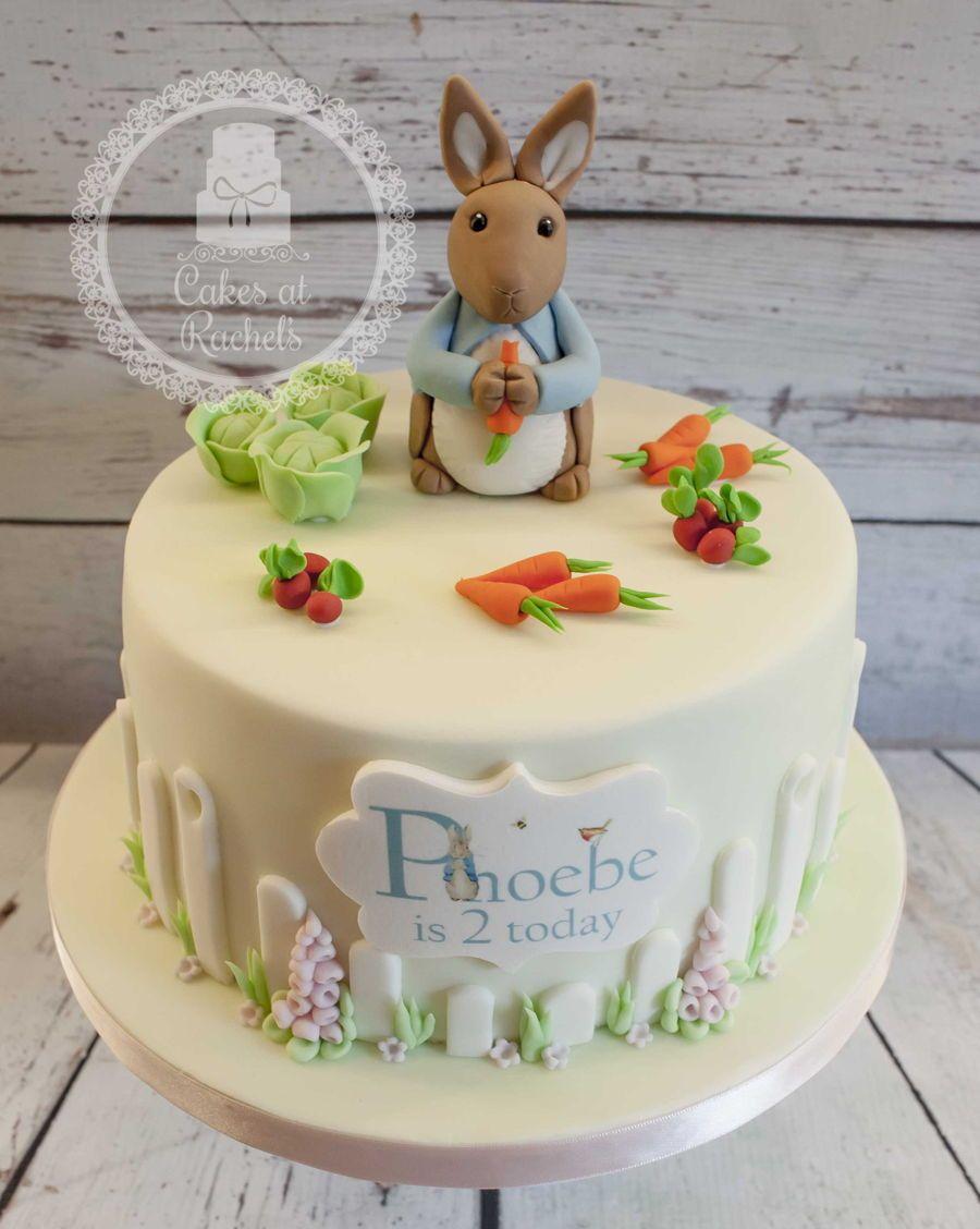Peter Rabbit Cake detsk torty Pinterest Peter rabbit cake
