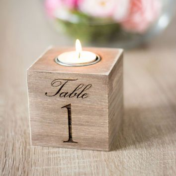 Table Numbers Wedding Wooden Table Numbers Holder Rustic Wedding Decoration Rustic Wedding Decor Centerpieces Wooden Table Numbers Wedding Candle Table Numbers