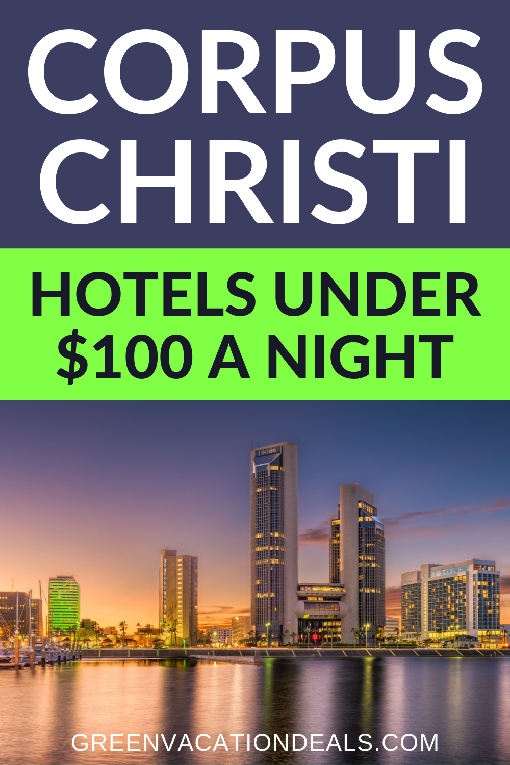 Corpus Christi, Texas hotel deals under $100/night: Hyatt, Pelican Bay Resort, Best Western, HIlton, Marriott, Wyndham, Tru South Padre Island, Aloft, etc. Texas travel hacks if you're looking for where to stay on your next trip. #CorpusChristi #Texas #HotelDeals #TravelDeals #TravelSale #HotelSale #TravelHacks #CheapTravel #BudgetTravel #BudgetTraveler #BudgetVacation #CheapVacation #Texastravel #surfing