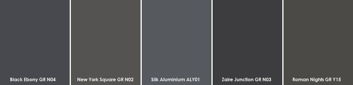 Plascon Dark Greys Paint Sample