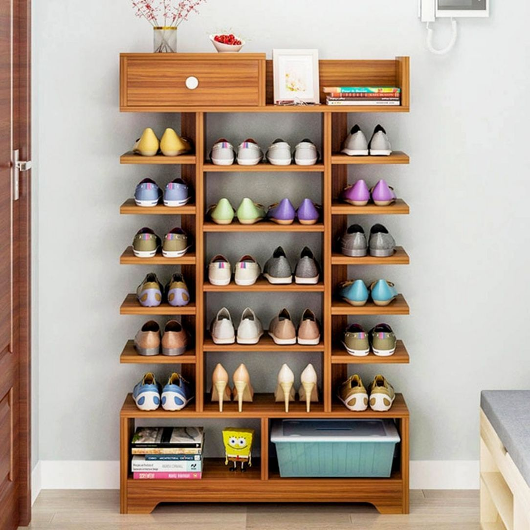 10 Creative Wooden Shoe Storage Designs That You Can Make At Home