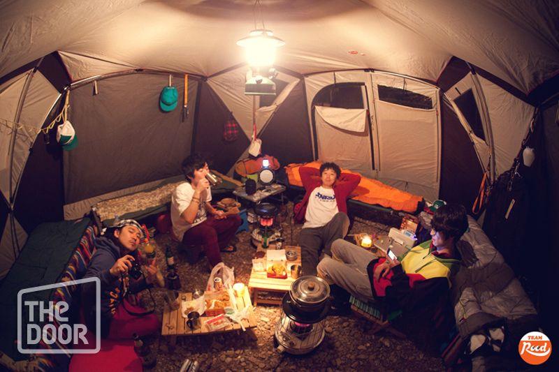 누구가의 캠핑...