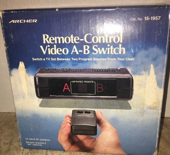 Archer Radioshack Remote Control Video A-B Switch 15-1957 ...