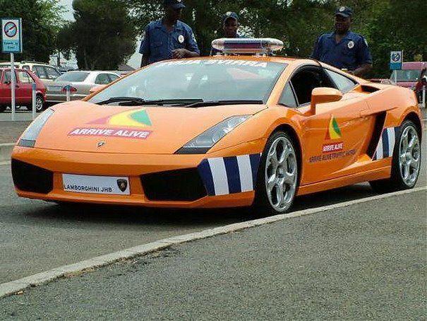 Lamborghini Gallardo Saudi Arabia Police Car They Have It Figured