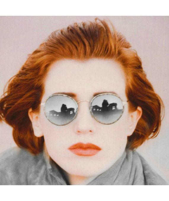 284b036748 Vintage Gatsby Round Sunglasses   P3 Glasses   John Lennon Glasses ...