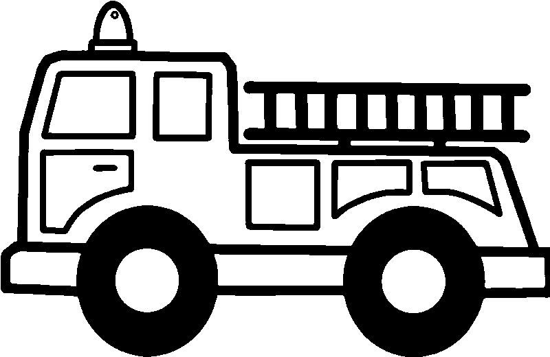 Fire Truck Stair Coloring Page See The Category To Find More