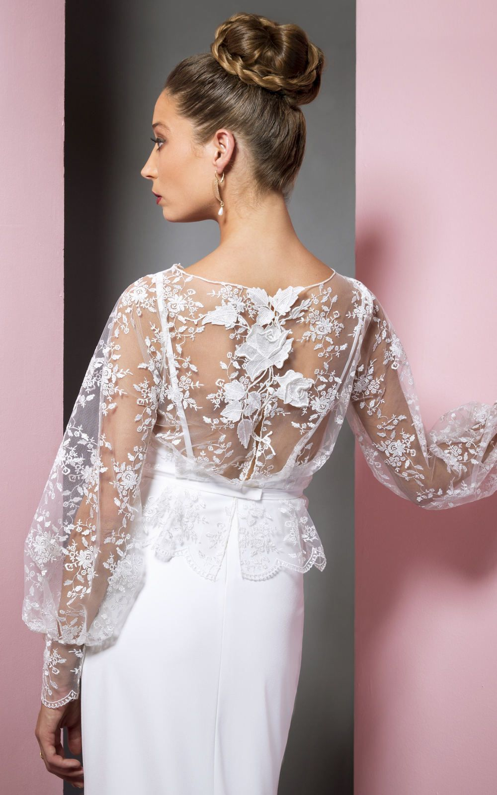 Back detail wedding dress  Gorgeous lace back detail Rene wedding dress by Petite Lumiere