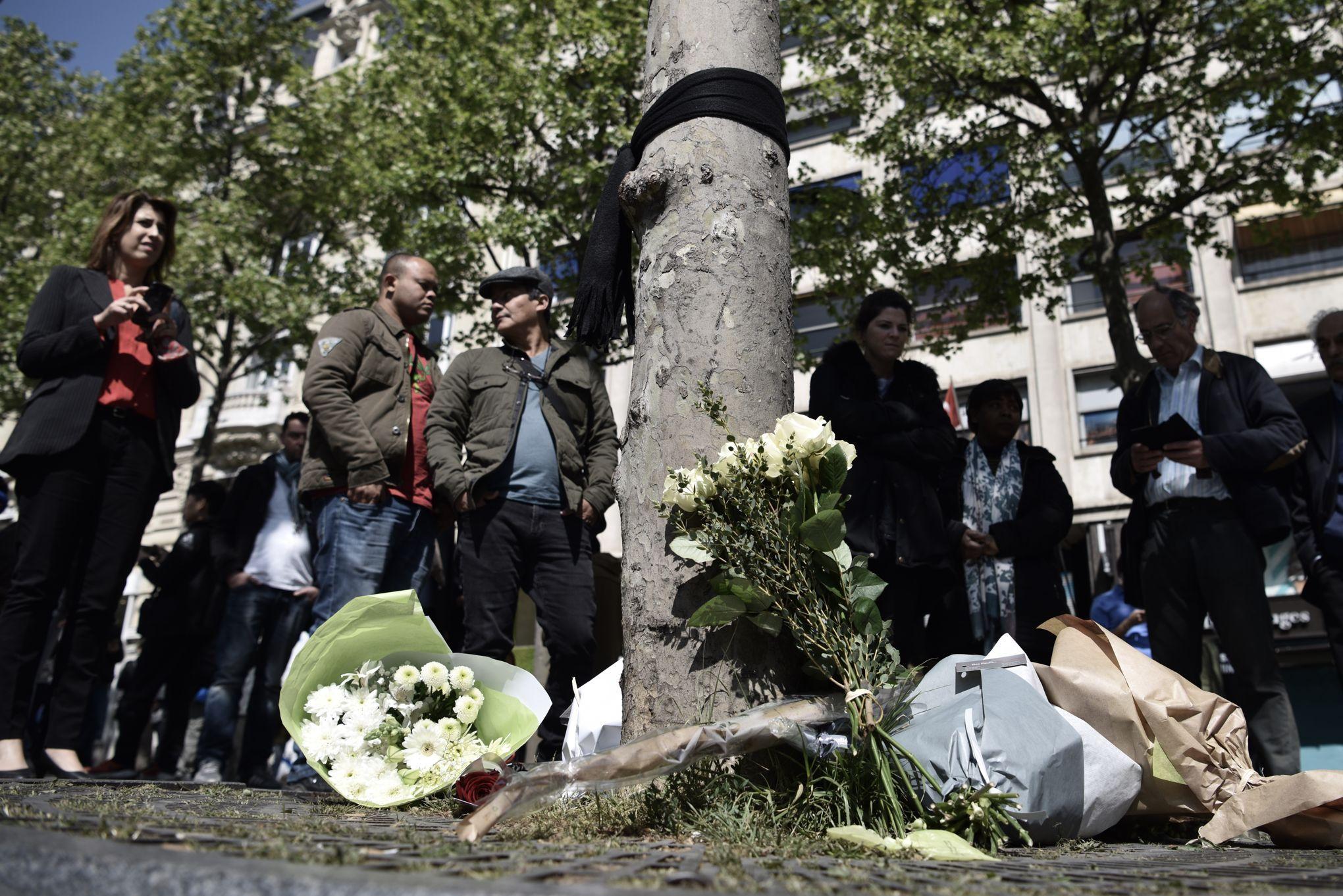Un homme en lien avec l'assassin du policier tué sur les