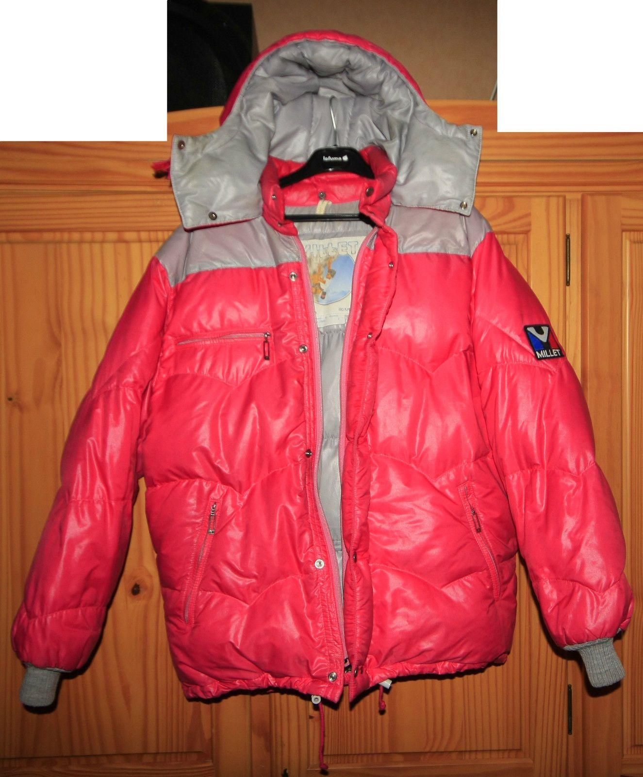 Vintage 80'S MILLET Down Jacket Doudoune Piumino TBE