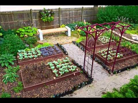 vegetable garden design i vegetable garden small backyard youtube - Small Vegetable Garden Ideas