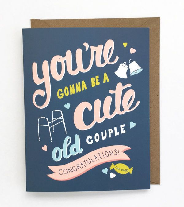 Wedding Gift Card Quotes: Engagement Cards: Cute Picks For Your Newly-Engaged BFF