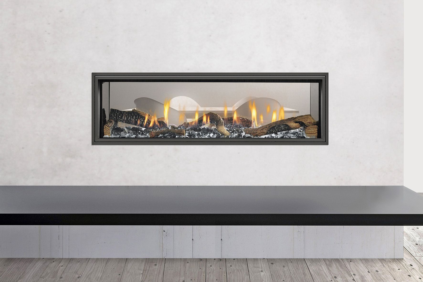 image result for heat n glo paloma corner gas fireplace