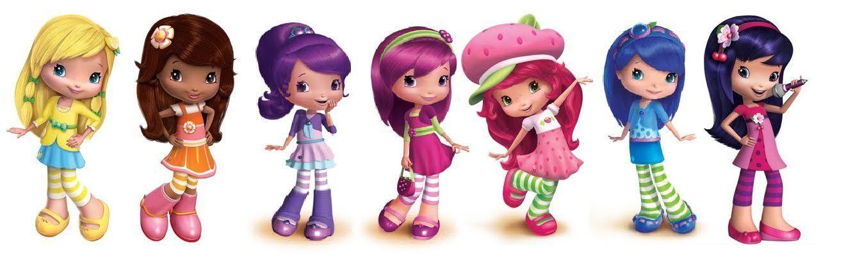 Strawberry Shortcake Wooden Dolls Strawberry Shortcake