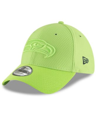 1f4fada998d9da New Era Seattle Seahawks Official Color Rush 39THIRTY Stretch Fitted Cap -  Green L/XL