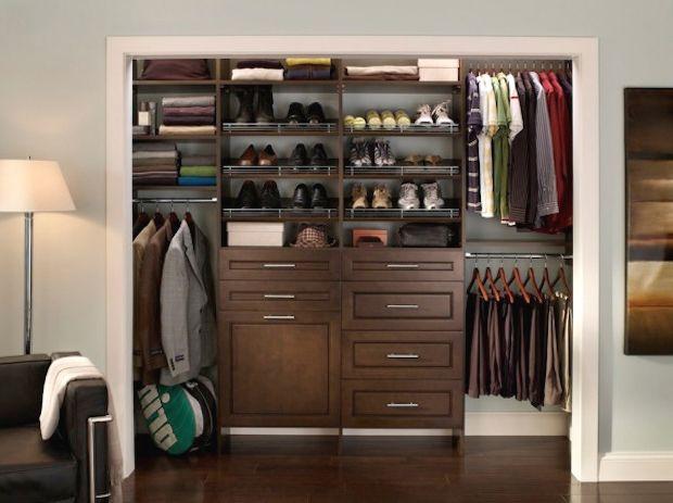 Superieur Create A Working Closet For Men