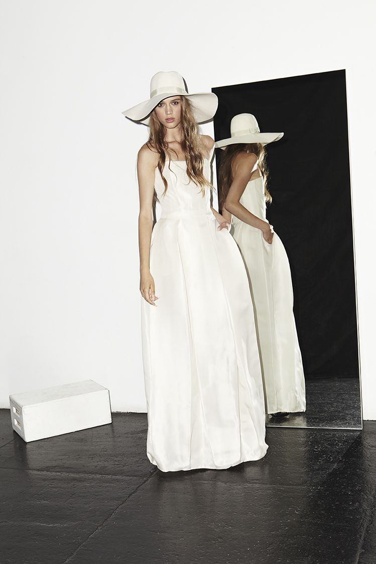 Houghton Bridal Brautkleider High Fashion Brautmode Magazin white ...