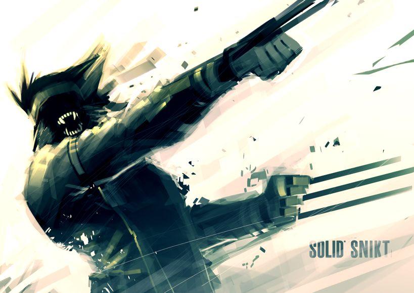 Wolverine/Solid Snake Combo by Reza Ilyasa