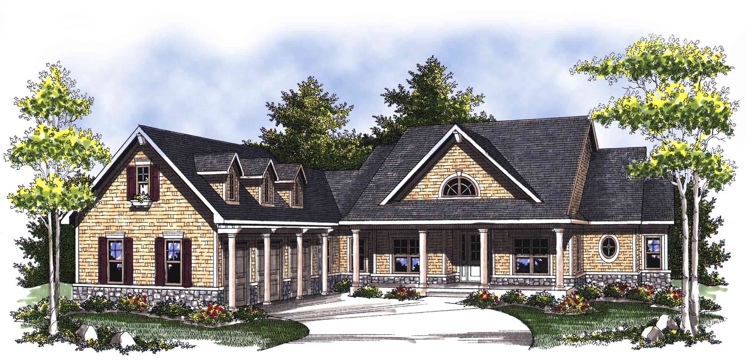Plan 89288ah Classic Country Ranch Home Plan Country Style House Plans Farmhouse Style House Plans Ranch Style House Plans