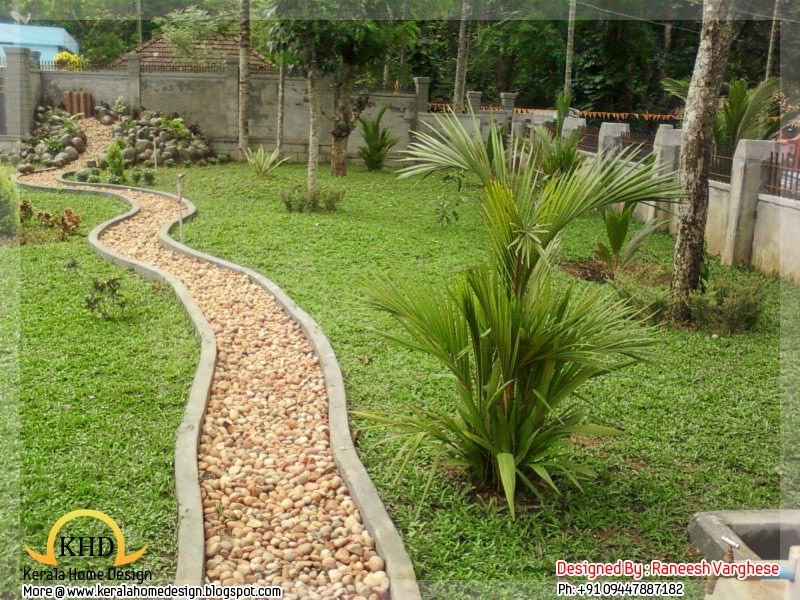 The Garden Landscaping Ideas For Your Home Kerala Latest