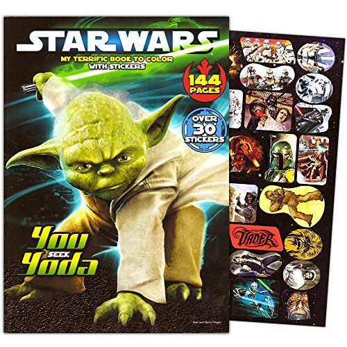 Classic Star Wars Giant Coloring Book With Stickers 144 Pages Learn More By Visiting The Image Link Not Classic Star Wars Star Wars Coloring Book Star Wars