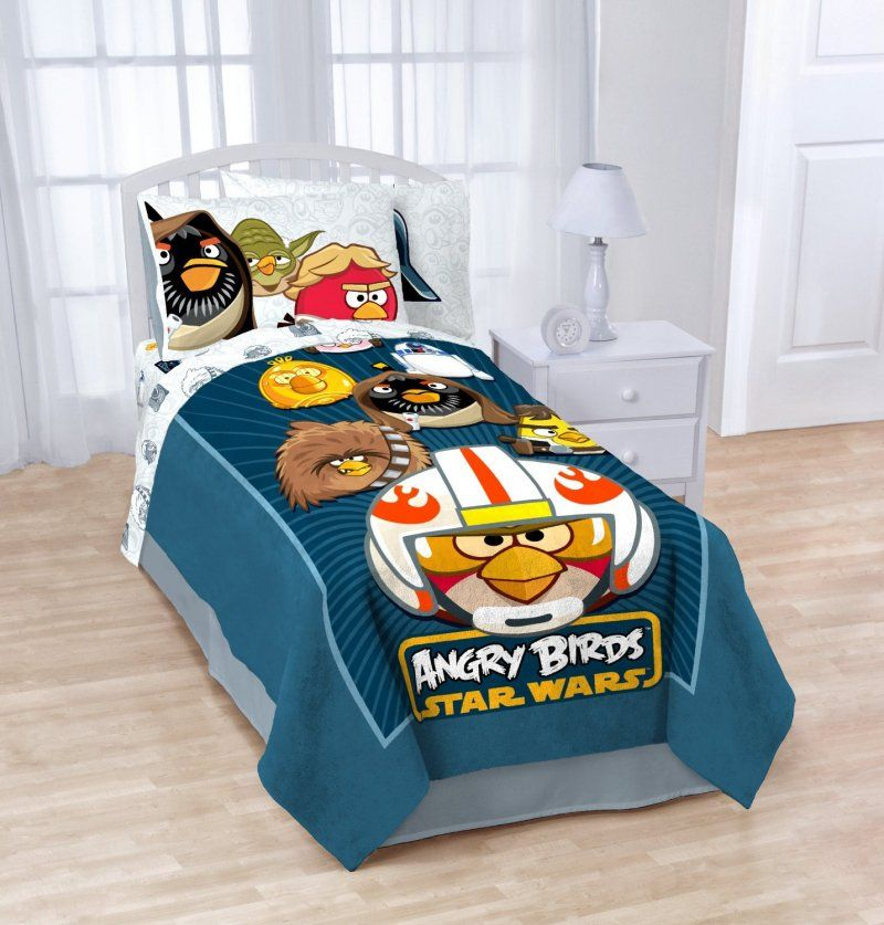 How To Decorate An Angry Birds Themed Bedroom