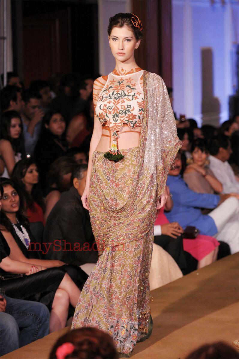 Myshaadi ue indian bridal wear by rina dhaka bohemiana mode