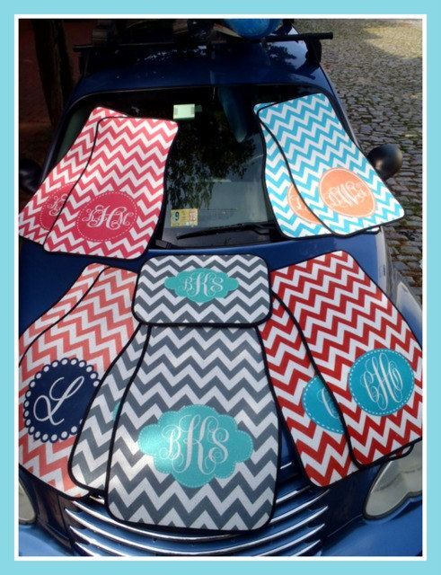 Car Mats Monogrammed Gifts Personalized Custom Cute Accessories For Women Mat Monogram Gift Ideas Sweet 16 Decor