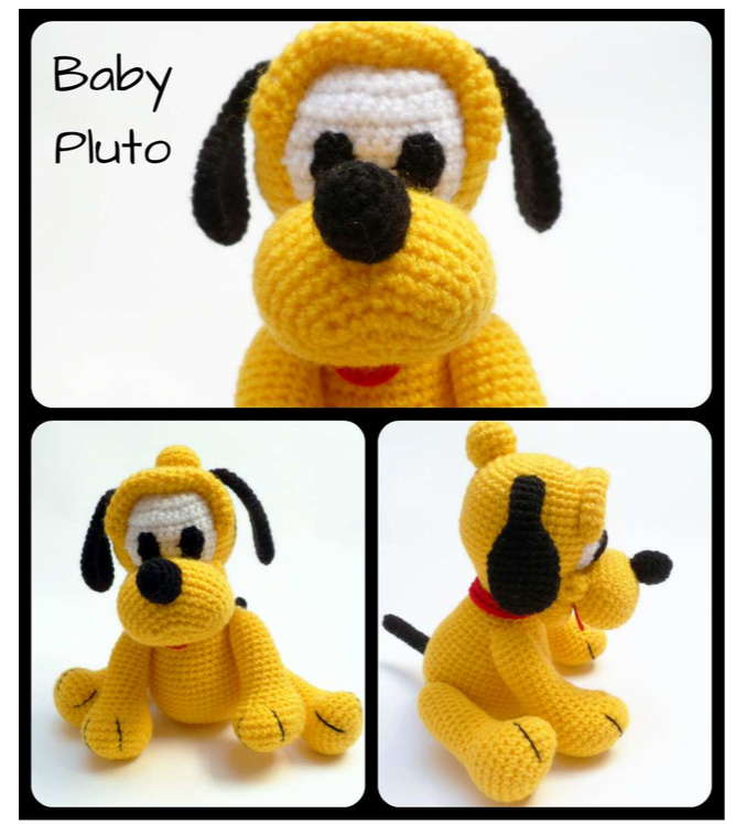 This is a free crochet pattern for a small, sitting teddy bear ... | 748x668