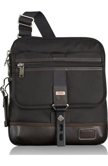 ce5d351b3efd TUMI MEN S TUMI  ALPHA BRAVO - ANNAPOLIS  CROSSBODY BAG - BLACK.  tumi  bags   shoulder bags  nylon  crossbody