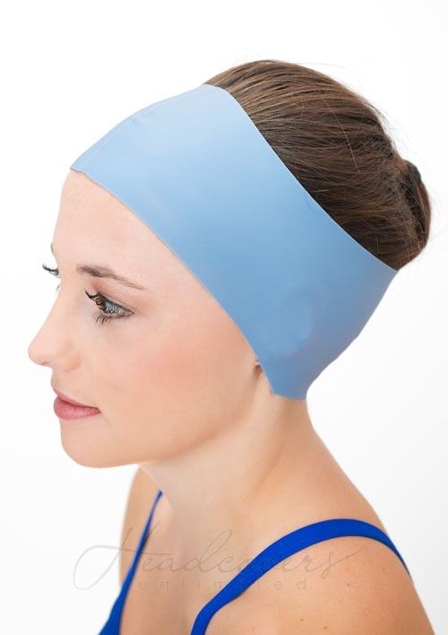 Hair Guard Headband Wear Under Swim Caps For Watertight Seal Headcovers Com Swim Cap Hair Swim Caps Swim Mom