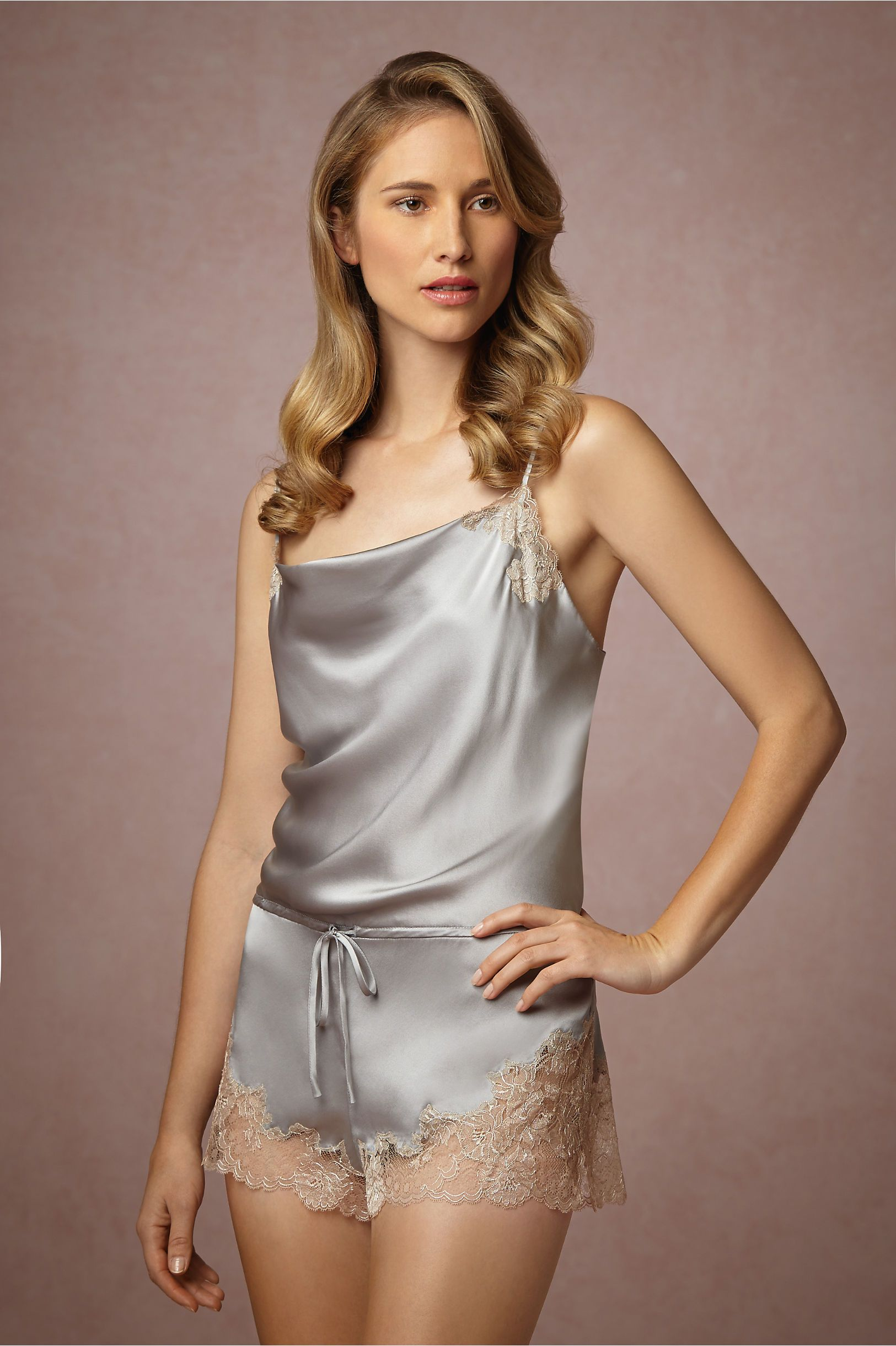 4a6ce2f03a Virginie Romper from  BHLDN Satin Lingerie