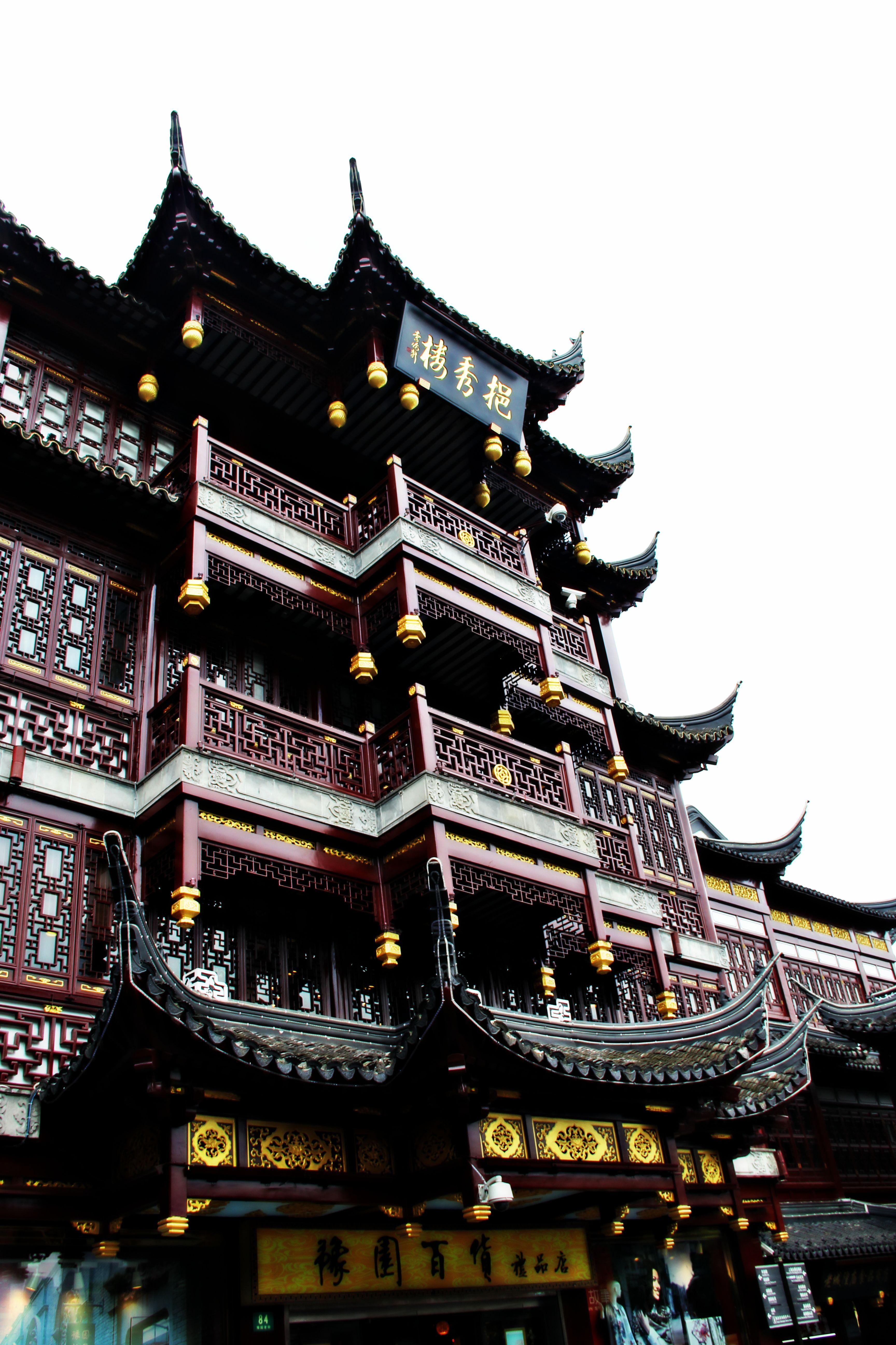 Shanghai garden temples