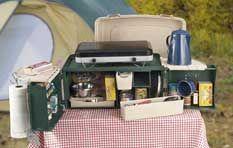Campmate Organizer And Place Settings Green Camping Chuck Box Chuck Box Camping Gear List