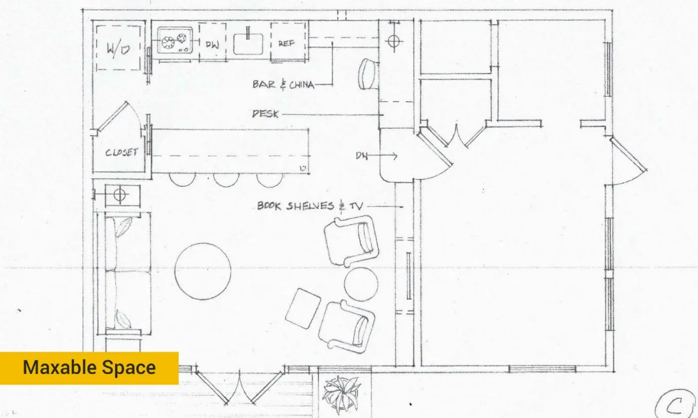 Garage Conversion 101 How To Turn A Garage Into Living Space Maxable In 2020 Garage Floor Plans Convert Garage To Room Garage To Living Space