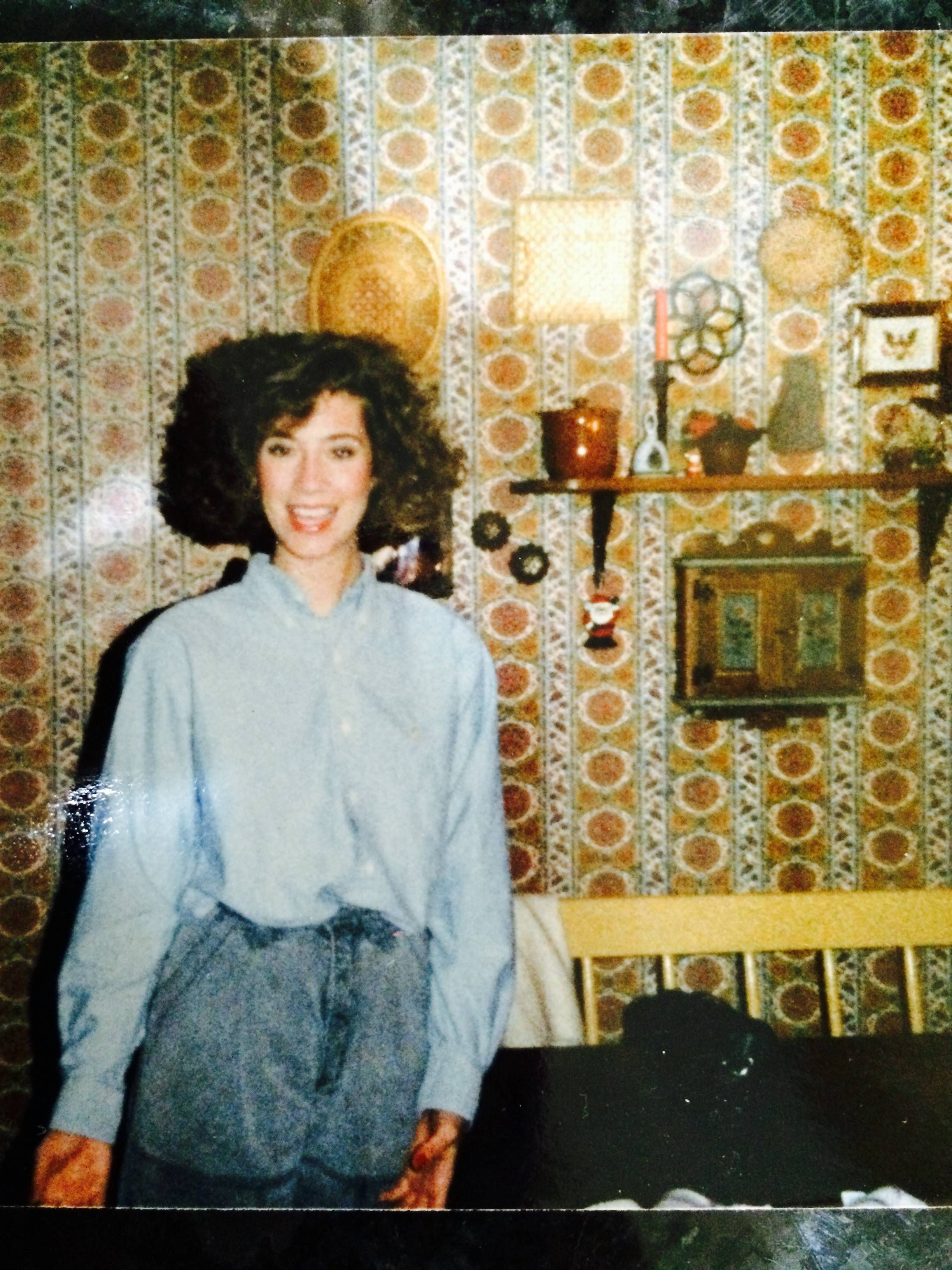 My mom just out of college 1984