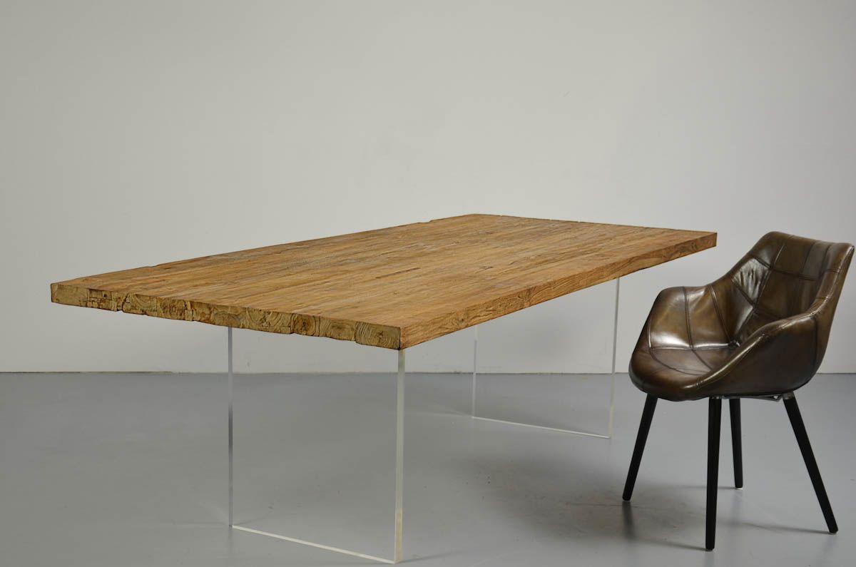 Tischwangen mit Old Teak (mit Bildern)   Design tisch