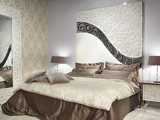design canopy double bed saraya elledue arredamenti di On arredamenti galimberti
