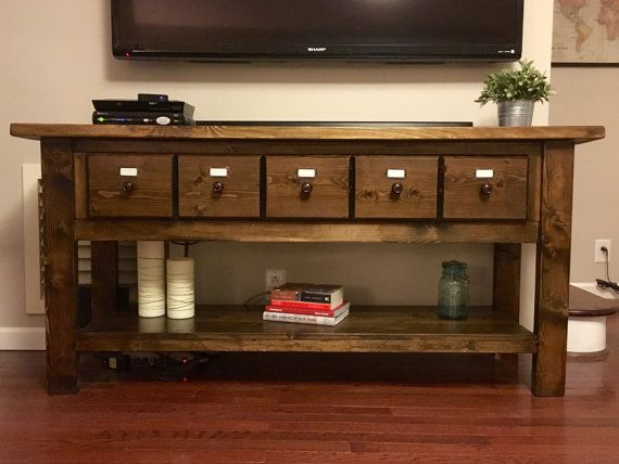 Nice Apothecary Console Table