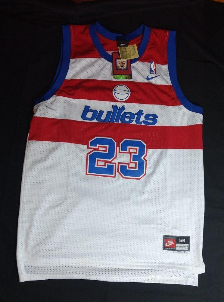 1a4b1e880 Michael Jordan Wizards Authentic Throwback Jersey Nike Brand  New..XXXL..Rare!!!  Nike  WashingtonBullets