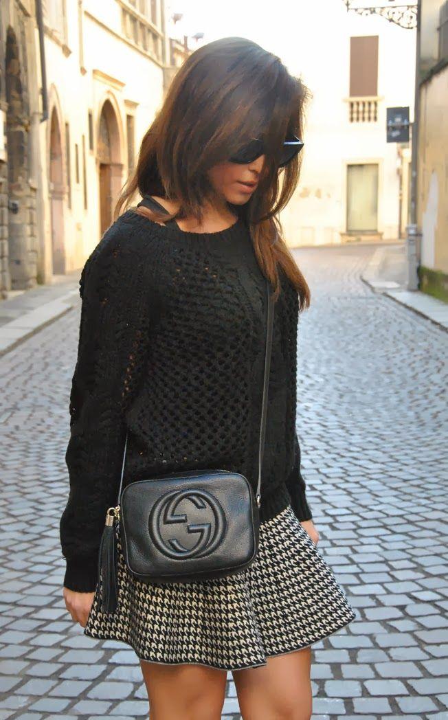 ece11a3fa4f5 gucci disco bag   STYLE SHOUTS  Gucci Disco Soho bag and skirt ...